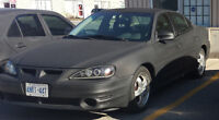 2000 PONTIAC GRAND AM GT - WINTER BEATER - AS IS or FOR PARTS