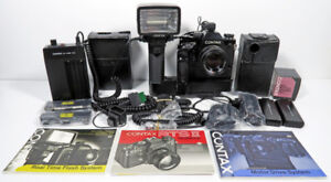 Camera Contax RTS II Set  (for collector)