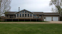 Grand Home and 76 acres near Beautiful Clear Lake Manitoba