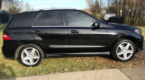 Fully loaded 2013 Mercedes ML350 Bluetec - over 900km a tank!