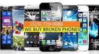 WE BUY ALL YOU UNWANTED OR BROKEN PHONES !!!