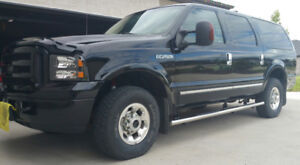2005 Ford Excursion Limited only 205k 4x4 diesel