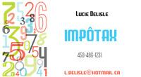IMPOTAX SERVICES DE DÉCLARATION D'IMPÔTS $30