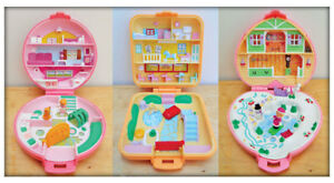 Looking for Vintage Original Polly Pocket Compacts Houses Dolls