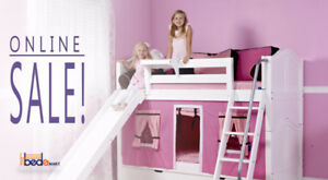 LOFT & BUNK BEDS_ TOP QUALITY BEDROOM FURNITURE_ONLINE SALE