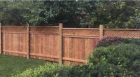 wood fence & wood gate -Mississauga-Brampton-Etobicoke