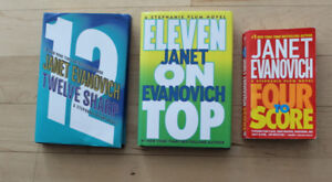 2 hardcover, 1 paperback by Janet Evanovich $ 5 for all