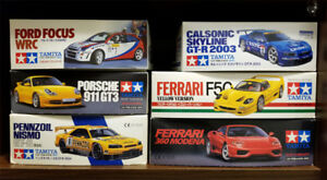 TAMIYA 1/24 Sports Cars (BNIB)