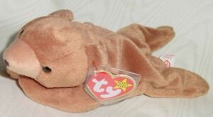 Cubbie the Bear Ty Beanie Baby stuffed animal