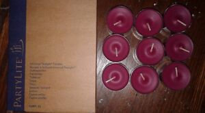 Partylite Tealights x 9 : Berry Bramble