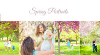 Spring Bloom Portraits