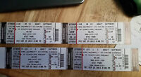 ACDC tickets in San Francisco @ AT&T Park Sept, 25/15.hard copy