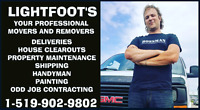 Property maintenance cleanup and rubish removal