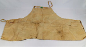 Wood Working, Art Painter, Sculptor Apron Tan Washed Prev Owned