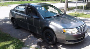 2005 Saturn ION Sedan summer and winter tires included.