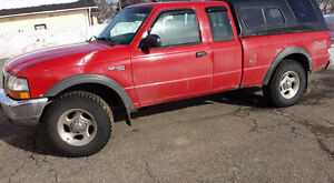 2000 Ford Ranger Pickup Truck for sale