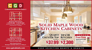 solid wood kitchen/bath cabinet & granite retail & wholesale