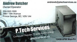 P.Tech Computer Services, Since 2011 Prince George British Columbia image 2