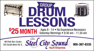 Steel City Sound Youth Percussion Ensemble