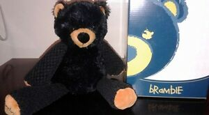 Scentsy Bramble the Bear Buddy with box no pak - as received