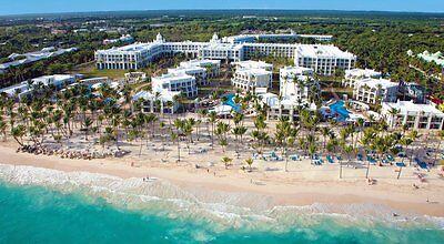 Riu Palace Bavaro Punta Cana  All Inclusive Vacation   9 22 2018