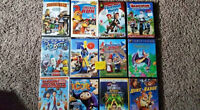 DVD's $2.00 and UP Disney Dream works etc