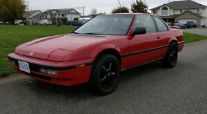 RARE, CLEAN 1990 SR Honda Prelude Sports Car 2 Door Coupe 2.1L