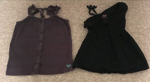 TANK TOPS (2) TODDLER SZ 4 ROXY, JOE