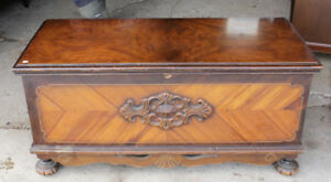 Vintage Cedar Chest/Blanket Box