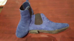 RAMPAGE Blue short boots
