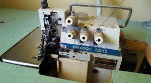 machine à coudre surjeteuse à 5 fils