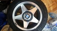 MUST GO!***BMW 325i - 4Bolt - Tires and Rims***BARELY USED!