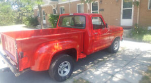 77 F 100 short box step side Sale/may trade