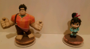Disney Infinity Wreck-It-Ralph & Vanellope Figures