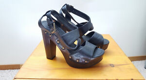 Club Couture Leather-like Sandal