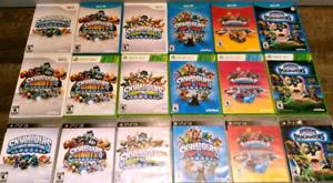 Jeux skylanders wii, wii u, ps3, ps4, xbox 360, xbox one