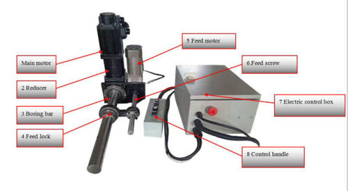 Line Boring Machine & Bore Welder Servo Line Boring & Bore Welder(110V,XTD50)