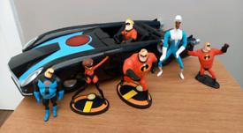Disney Incredibles figure bundle