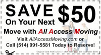 MONTREAL MOVERS 514-991-5581