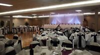 Event rentals and party rentals ( chair covers and linens )