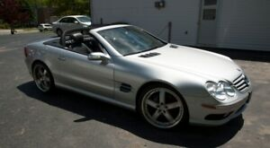 2005 SL500 Mercedes Benz Convertible