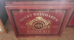 Approx 250 Beer signs! Tin, backlit, mirrored, vintage etc