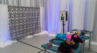 """Photobooth and Grand """"His&Hers"""" Chair Rental Only"""