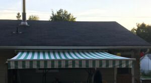 Manual Awning 12x10 feet