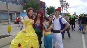 Princess Parties! Character Entertainment!
