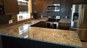 GRANITE COUNTERTOPS - Installed in just 7 Days ** ED Edmonton Edmonton Area image 1