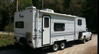 1998 24' SALEM FIFTH WHEEL CAMPER new queen mattress!