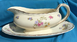 Gravy Boat + Cup & Saucer