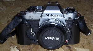 Nikon SLR camera, 50 mm f/1.8 lens AS NEW