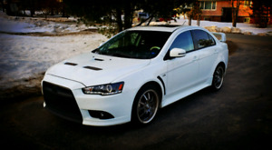 2015 Mitsubishi Lancer 5 speed. Limited Edition